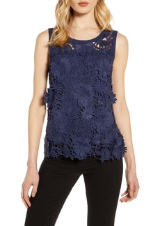 Halogen(R) Lace Tank Top