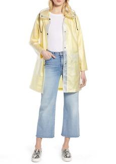 Halogen(R) Patch Pocket Transparent Jacket