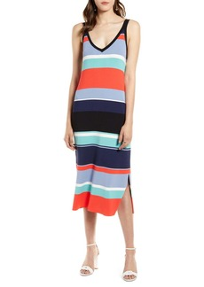 Halogen(R) Ribbed Tank Dress (Regular & Petite)