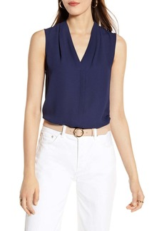 Halogen(R) Sleeveless V-Neck Top