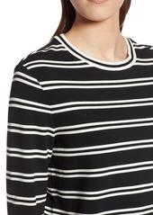 Halogen(R) Stripe Knit Top