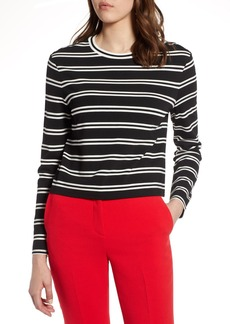 Halogen(R) Stripe Knit Top
