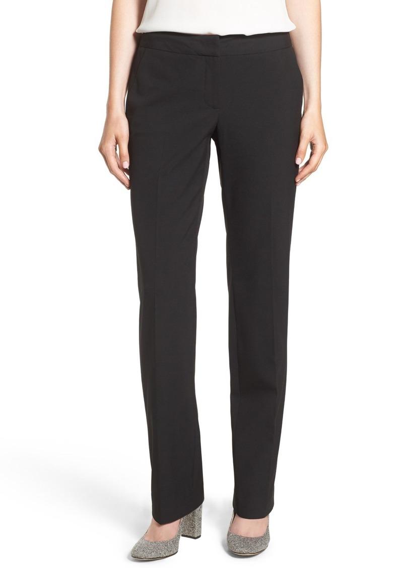 Halogen(R) 'Taylor - Ela' Straight Leg Suit Pants (Regular & Petite)