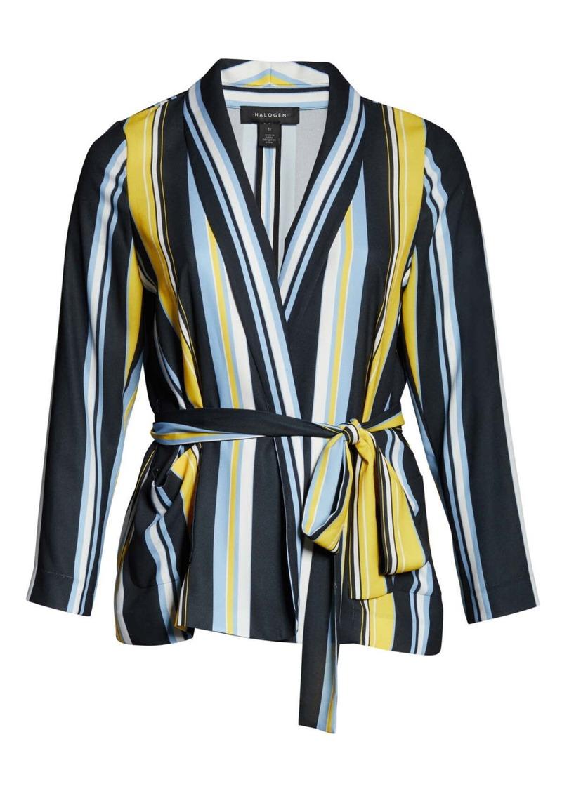 Halogen(R) Tie Waist Jacket (Regular & Plus Size)