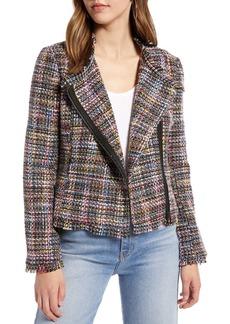 Halogen  Tweed Moto Jacket (Regular, Petite & Plus Size)