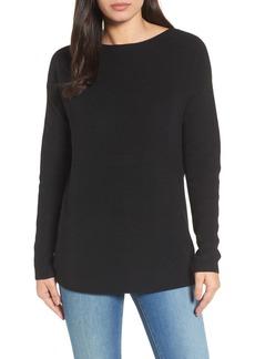 Halogen(R) Twist Back Sweater (Regular & Petite)
