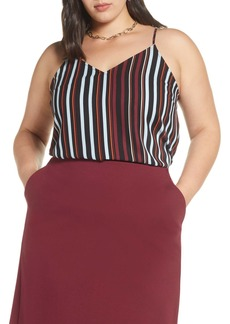 Halogen(R) V-Neck Camisole (Plus Size)