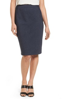 Halogen(R) Knit Pencil Skirt (Regular & Petite)