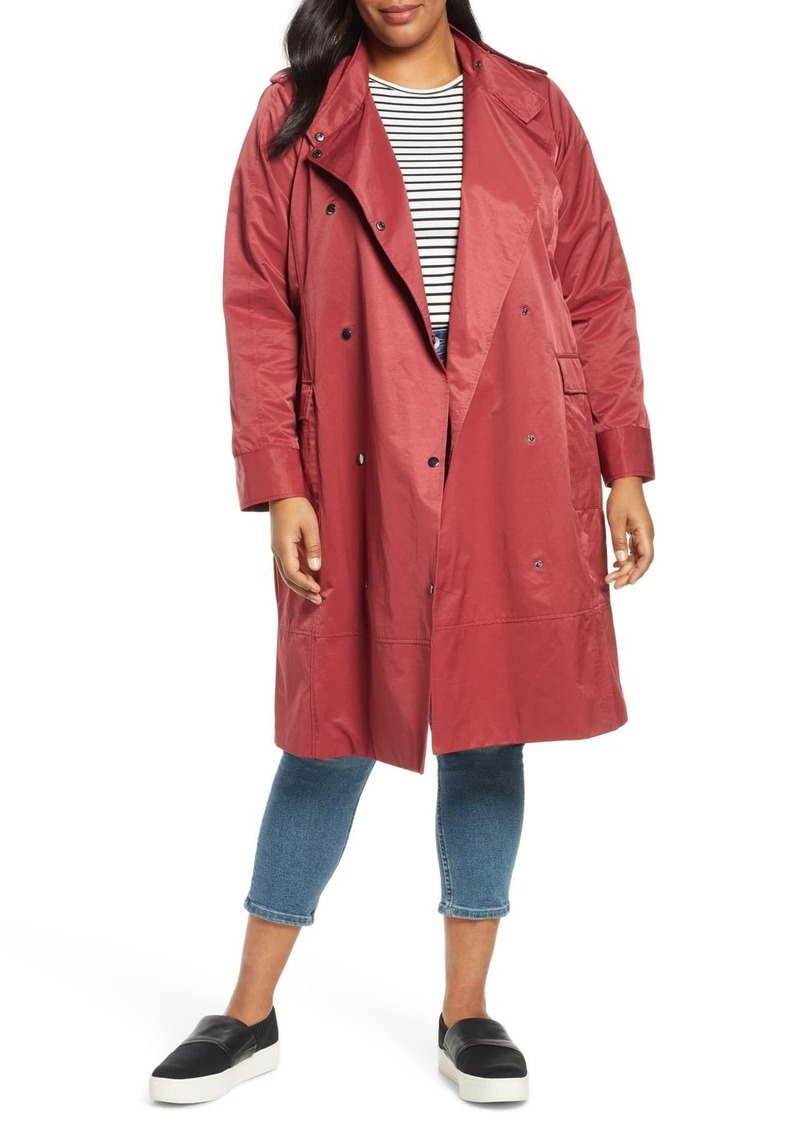 Halogen LONG PATCH POCKET TRENCH