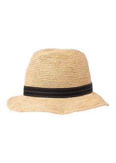 Halogen Modern Crochet Tilbry Hat
