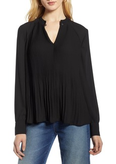 Halogen Pleat Detail Blouse