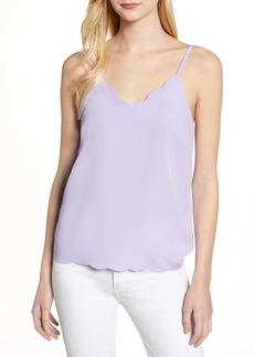 Halogen Scallop Detail Camisole (Regular & Petite)