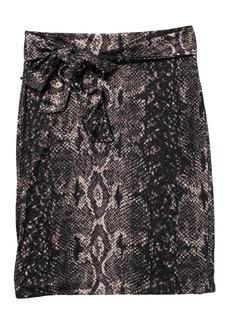 Halogen Tie Front Pencil Skirt (Regular & Petite)
