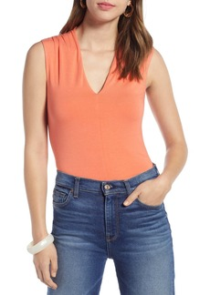 Halogen V-Neck Sleeveless Top