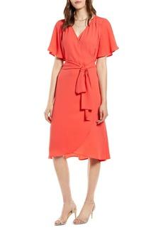 Halogen Wrap Dress (Regular & Petite)