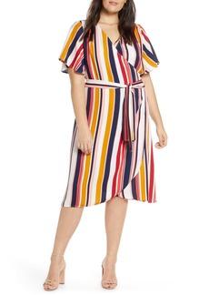 Halogen(R) Wrap Dress (Regular & Petite)