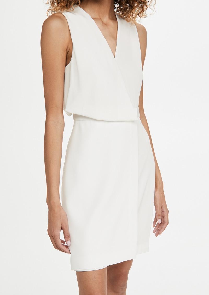 HALSTON Narciss Drape Dress