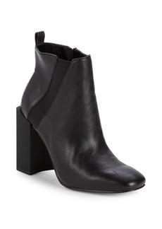Halston Heritage Block Heel Ankle Boots