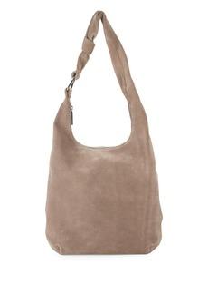 Halston Heritage Large Suede Hobo Bag