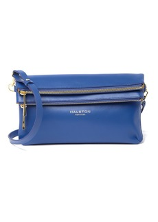 Halston Heritage Convertible Leather Clutch