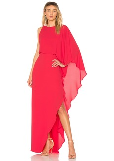 Flowy One Sleeve Gown