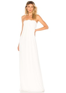 Front Tie Detail Gown