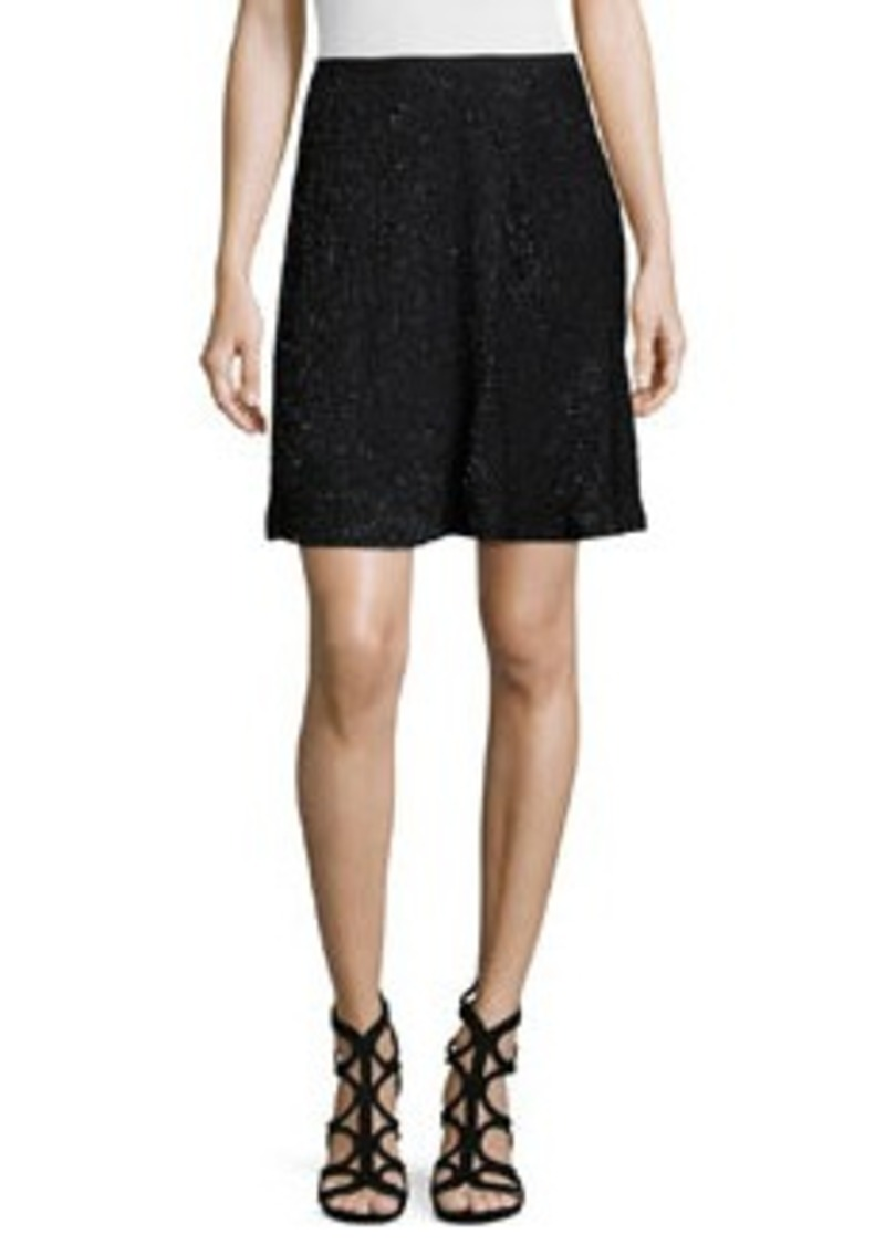 Halston Heritage Embellished A-Line Skirt