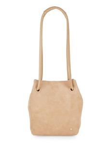 Halston Heritage Ali Suede Drawstring Bag
