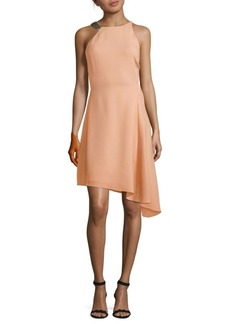 Halston Heritage Asymmetrical Dress