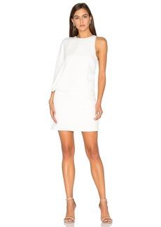Halston Heritage Asymmetrical Mini Dress