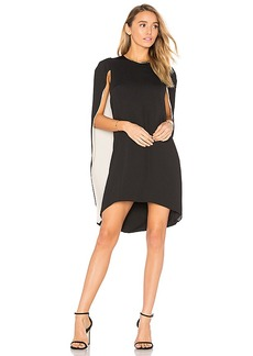 Halston Heritage Cape Dress in Black. - size 2 (also in 0,4)