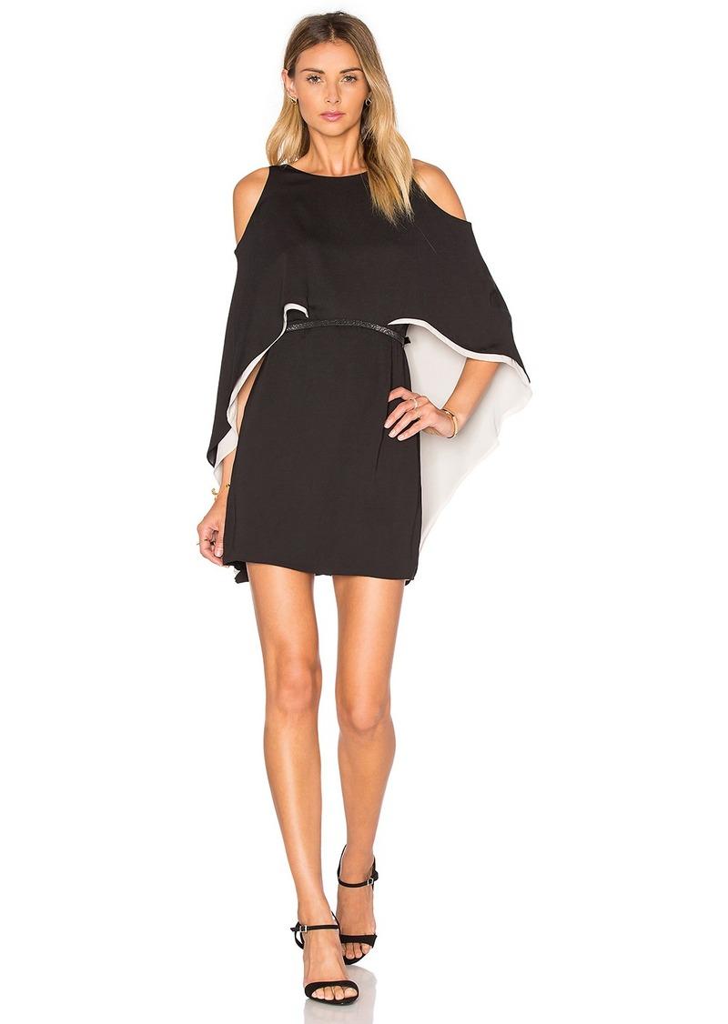 Halston Heritage Halston Heritage Cape Sleeve Flowy Dress | Dresses
