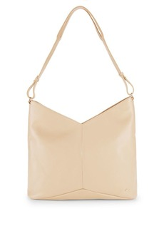 Halston Heritage Chevron Leather Tote Bag