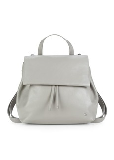 Halston Heritage Drawstring Leather Backpack