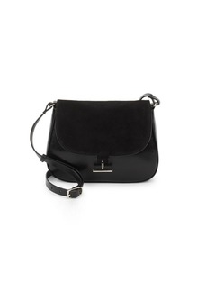 Halston Heritage Classic Leather Crossbody Bag