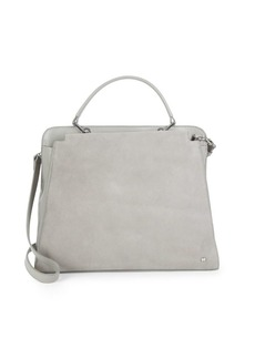 Halston Heritage Leather Tote Satchel