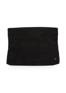 Halston Heritage Classic Suede Clutch