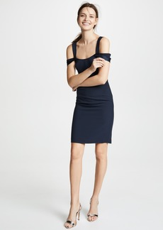 Halston Heritage Cold Shoulder Dress