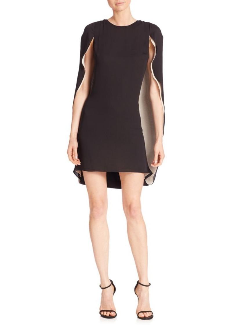 081d7947ae954 Halston Heritage Halston Heritage Colorblock Cape Dress | Dresses