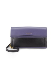 Halston Heritage Colorblock Leather Wallet