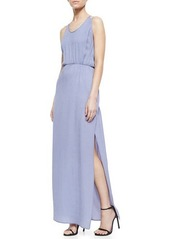 Halston Heritage Crepe Maxi Dress
