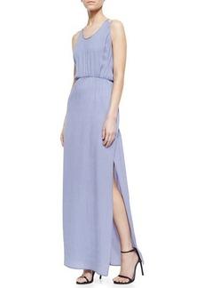 Halston Heritage Crepe Maxi Dress