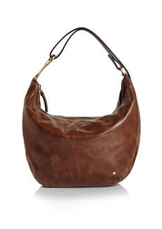 HALSTON HERITAGE Elsa Three-Way Convertible Leather Shoulder Bag