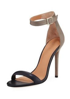Halston Heritage Ester Colorblock High-Heel Sandal