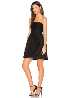 Halston Heritage Faille Dress in Black. - size 0 (also in 2,6)