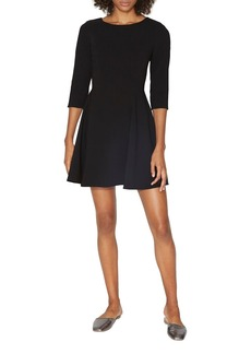HALSTON HERITAGE Fit-and-Flare Dress