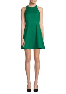 Halston Heritage Flared Fit-and-Flare Dress