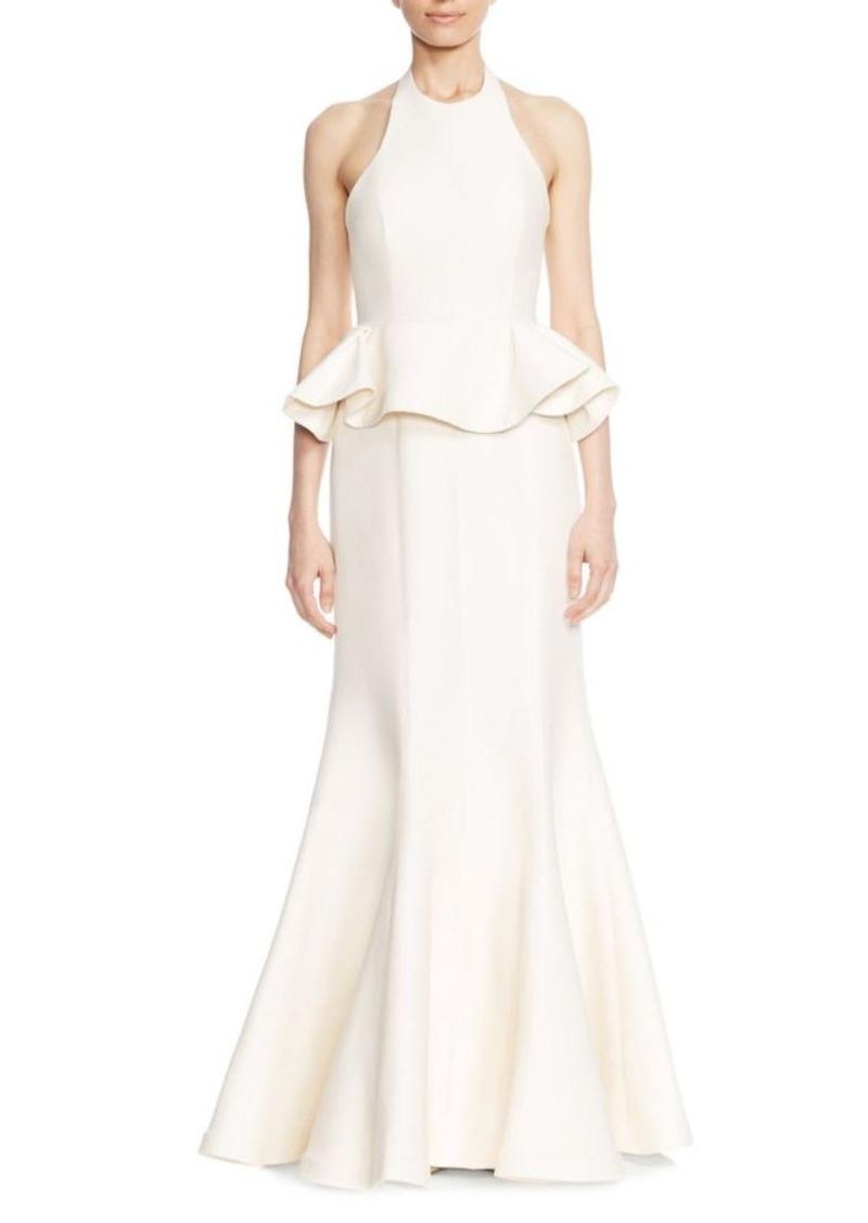 Halston Heritage Halston Heritage Flared Ruffled Evening Gown | Dresses