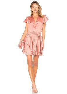 Halston Heritage Flounce Dress