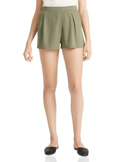 HALSTON HERITAGE Flowy Twill Shorts